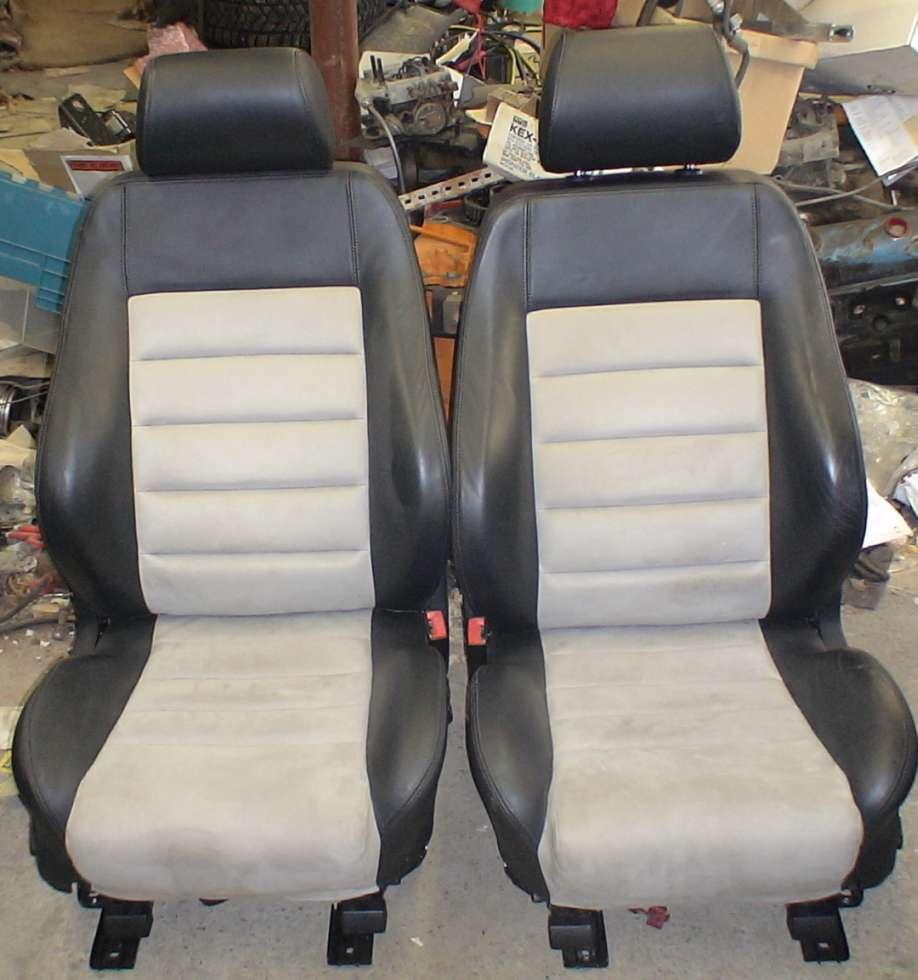 FS: B5 S4 Alcantara Seats (Black/Grey)